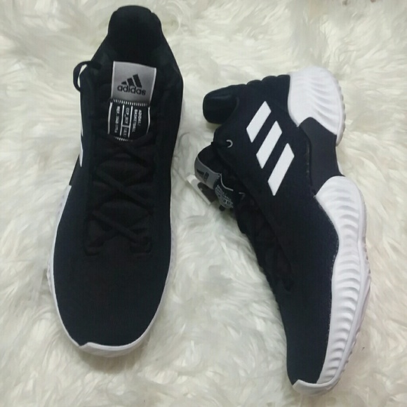 c2ce233ac345a NWT Adidas Pro Bounce Low Black Sneakers